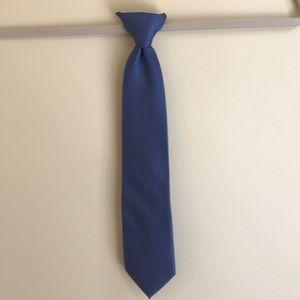 Boys clip on tie